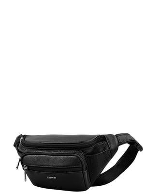 Поясна сумка чорна | 5241560