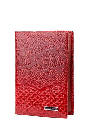Обкладинка для паспорта червона   5241567