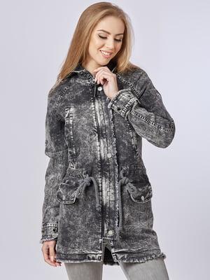 Куртка світло-сіра | 5224700