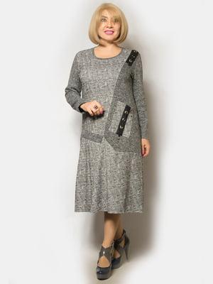 Платье серое   5243278