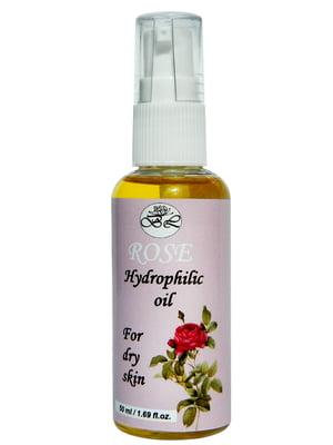 Гидрофильное масло «Роза» для сухой кожи (50 мл)   4396137