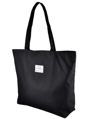 Сумка-шоппер черная | 5243578