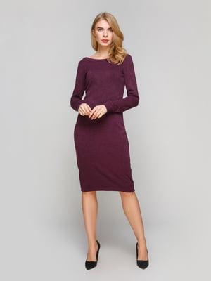 Сукня кольору марсала | 5228456