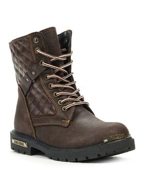 Черевики коричневі | 5218662