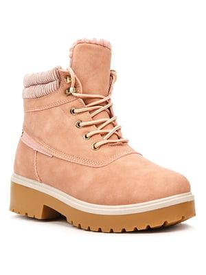 Ботинки розовые | 5231871