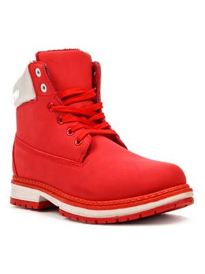Ботинки красные | 5231887