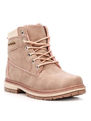 Ботинки розовые | 5231869