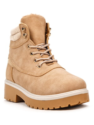 Ботинки бежевые | 5231872