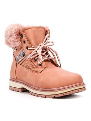 Ботинки розовые | 5231876