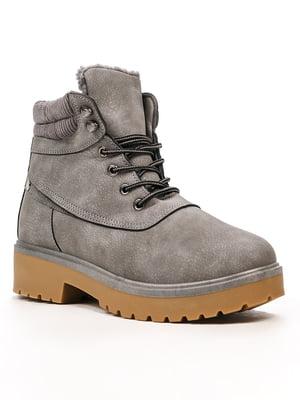 Ботинки серые | 5231870