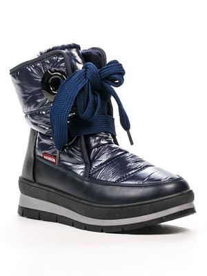 Чоботи темно-сині | 5231929