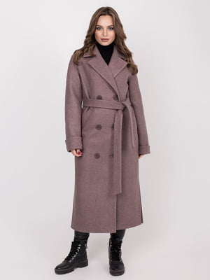 Пальто кольору капучіно   5244197