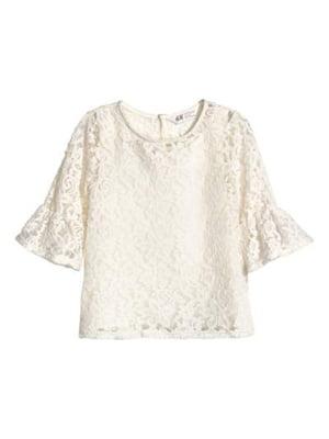Блуза молочного кольору | 5223663