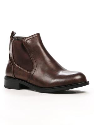 Черевики коричневі | 5244004
