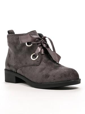 Ботинки серые | 5244046