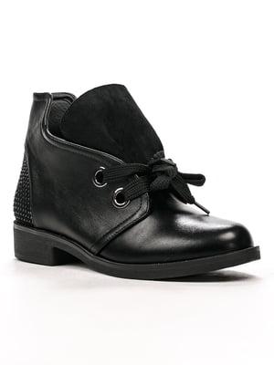 Ботинки черные | 5244021