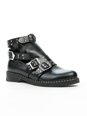 Ботинки черные | 5241422