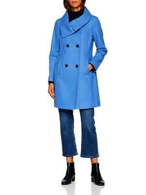 Пальто блакитне | 5245638