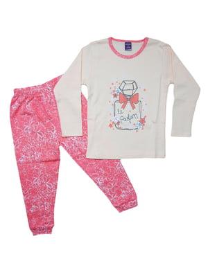 Піжама: лонгслів і штани | 5246257