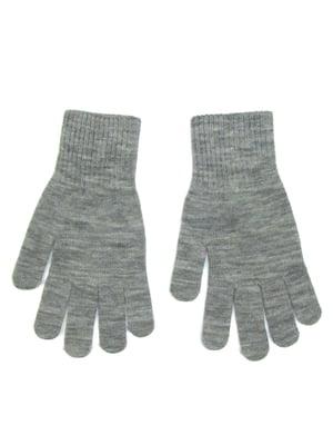Перчатки серые | 5223671