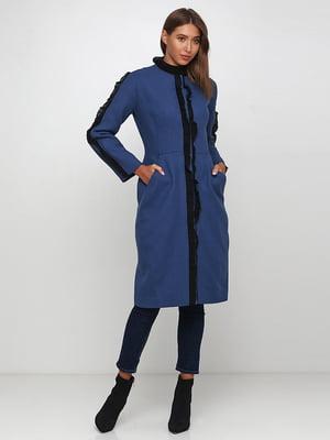 Пальто синє | 5173515