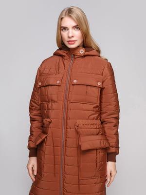 Пальто коричневое | 5232305