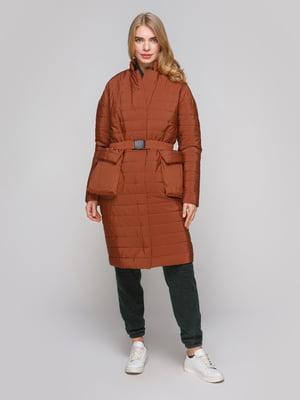 Пальто коричневе | 5232306