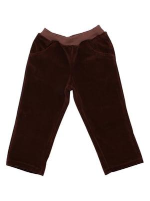 Штани коричневі | 5246738
