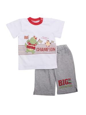 Комплект: футболка и бриджи | 5246843