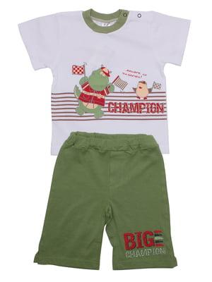 Комплект: футболка и бриджи | 5246846