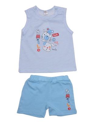 Комплект: майка и шорты | 5246850