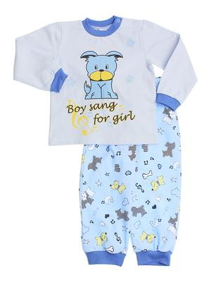 Пижама: джемпер и брюки   5246877