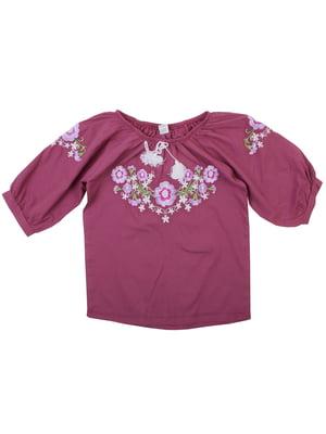 Блуза бордова | 5247566