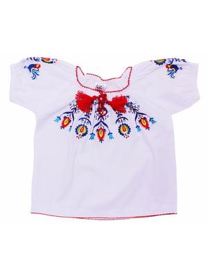Блуза-вышиванка белая | 5247570