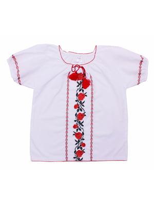 Блуза-вышиванка белая | 5247571