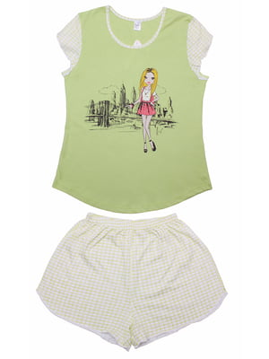 Піжама: футболка і шорти | 5247603