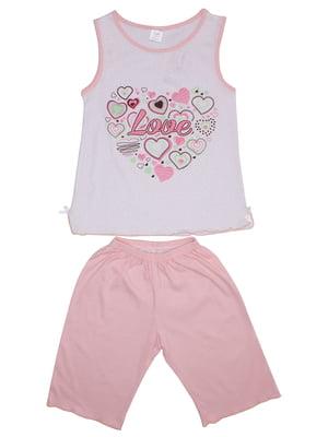 Пижама: майка и шорты | 5247613