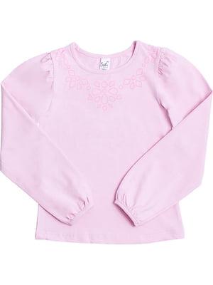 Лонгслів рожевий | 5247875