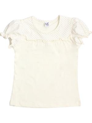 Блуза молочного цвета | 5247910