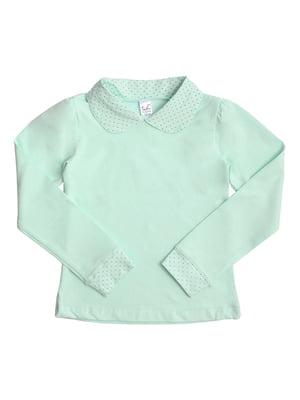 Блуза ментолового цвета | 5247913