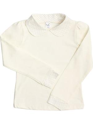 Блуза молочного кольору | 5247942