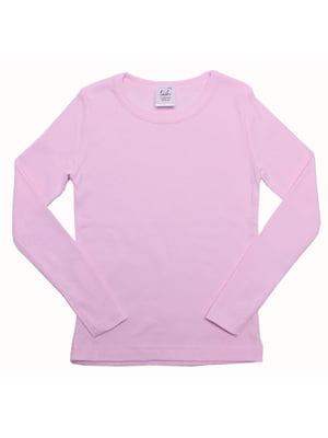 Лонгслив розовый | 5248040