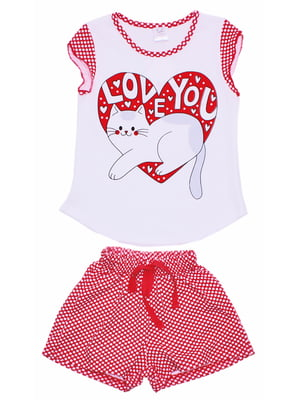 Комплект: футболка и шорты | 5248093