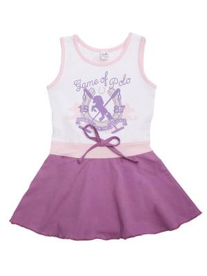 Сарафан фиолетовый | 5248147