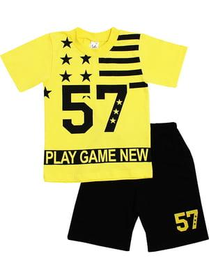 Комплект: футболка и шорты | 5248586