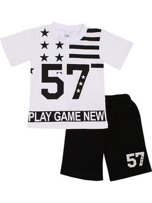 Комплект: футболка и шорты | 5248598