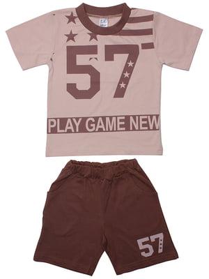 Комплект: футболка и шорты | 5248599