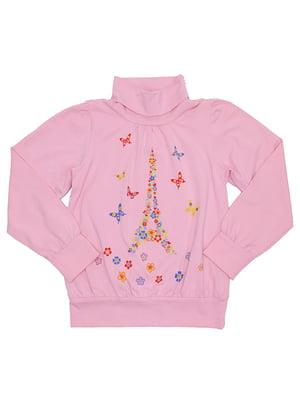 Гольф меланжево-рожевий | 5248650