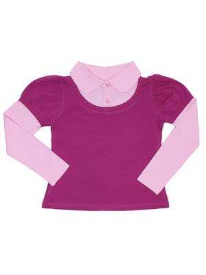 Блуза малиново-рожева | 5248654