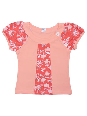 Блуза персикового кольору | 5248666
